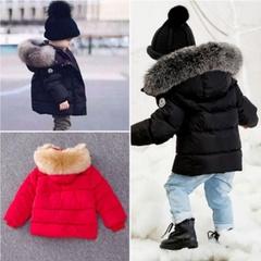 暖かい[男の子][女の子]の冬のコート/厚いコートパッド入りの冬のジャケット/カサウルコート