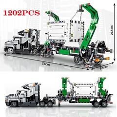 「1202ピース」ビッグトラックセット/マックアンセムビルディングブロック/