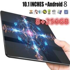 「高スペックタブレット」超薄型10.1インチオクタテンコア8G + 256Gアンドロイド8.0 WiFiタブレットPCデュアルSIMデュアルカメラ背面8.0MP IPSブルートゥースMTK6592 3G WiFi電話電話タブレットPC