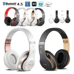S6 BluetoothヘッドフォンワイヤレスBluetooth 4.5重低音ステレオ折りたたみマイク付きTF SDカード