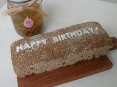 誕生日パン