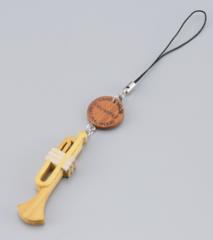 木製ストラップ 金管楽器/木管楽器(全8種)
