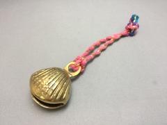 真鍮ベル/貝殻