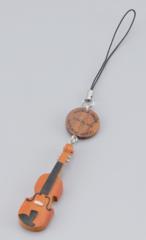 木製ストラップ 弦楽器/打楽器(全6種)