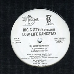 Low Life Gangstas / G's Come Out At Night