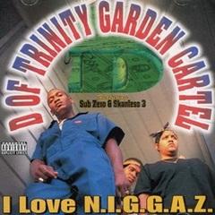 D Of Trinity Garden Cartel / I Love N.I.G.G.A.Z.