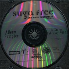 Suga Free / The New Testament Album Sampler