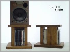 CDラック&卓上スピーカースタンド -SP-TYPEⅠ ワックス仕上げ 31