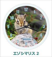 オリジナル壁掛時計「シマリス 02」 2007