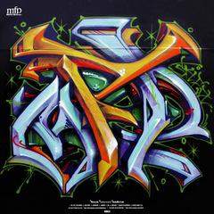 oil1206 mfp / ICHIRO_ // Mindful Beats Vol.1 / Tape Grains 12INCH
