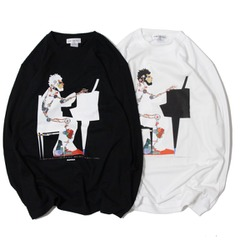 PIANITY LONG T-SHIRTS