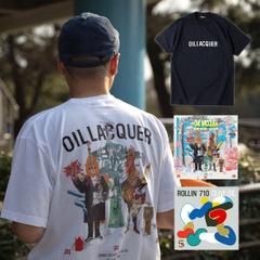 """リリース記念セット!Jambo Lacquer & Olive Oil """" OIL LACQUER"""" [CD] + Olive Oil """"ROLLIN' 710""""[CD] + """"OIL LACQUER T-SHIRTS"""""""