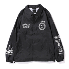 STUSSY x OIL WORKS 10TH ANNIVERSARY Coach Jacket