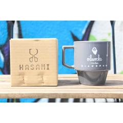 OILWORKS x HASAMI MUG CUP [GRAY]