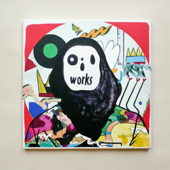 "POPY OIL CANVAS PRINT WORKS ""oilworks"""