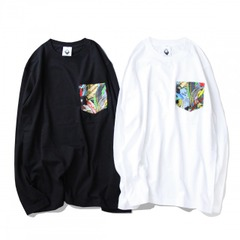 LEAF POCKET LONG T-SHIRTS 2017