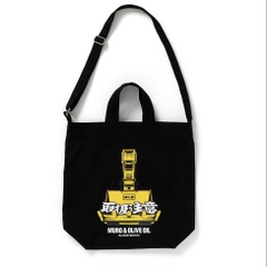 "BlackEyePatch x MURO & OLIVE OIL ""M%O SHOULDER TOTE BAG"""
