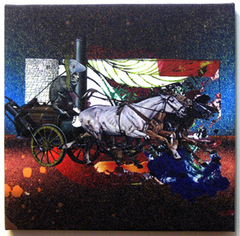 "POPYOIL CANVAS PRINT WORKS ""NewChapter"""