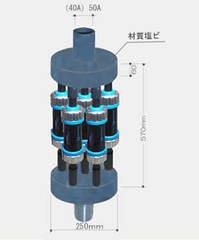 酸化還元磁化水器 50A用