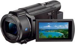 ソニー ビデオカメラ FDR-AX60 4K 64GB 光学20倍 ブラック Handycam FDR-AX60 B