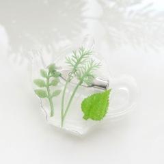 Tea pot ブローチ
