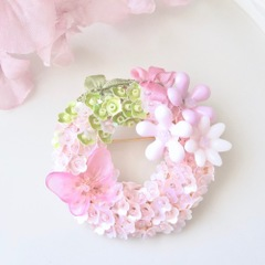 フェアリーリース・ピンクの蝶