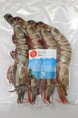 有頭・天然タイガーエビ (4-5尾)