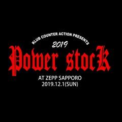 POWER STOCK 2019 in ZEPP SAPPORO チケット