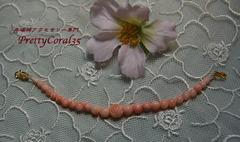 ピンクサンゴ 羽織の紐