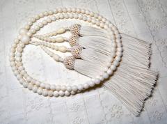白サンゴ 5.8mm玉 本連数珠