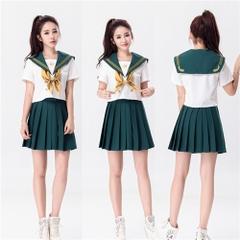 プリーツスカート セーラー服 学生服 コスプレ衣装