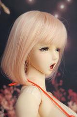 「ボブ ウィッグ:Pink(サイズ/6-7inch)」