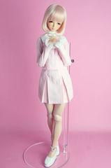 ミッション系制服:ライトピンク