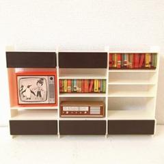 ●SOLD●【Mサイズ】レトロ 茶色の飾り棚