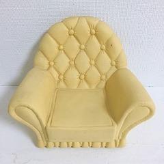 ●SOLD●シンディー 1980's クリーム色の1人掛けソファ