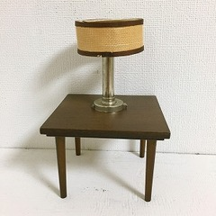●SOLD●バービー 1958 モダン木製家具 テーブル&ランプ