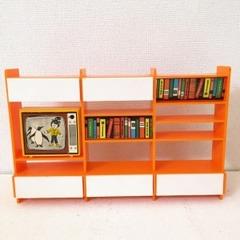 ●SOLD●【Mサイズ】レトロ オレンジの飾り棚