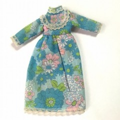 ●SOLD●Pippa 1973 Rome Collection blue floral nightgown