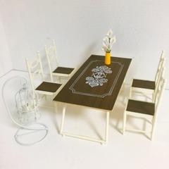 ●SOLD●【Lサイズ】 レトロなダイニングテーブルセット
