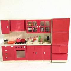 ●SOLD●【Lサイズ】ホットピンクのキッチン