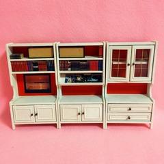 ●SOLD●【Sサイズ】LUNDBY 70's 白い飾り棚 3台セット
