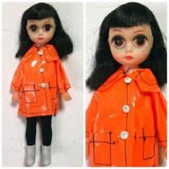●SOLD●1960s スージーサッドアイズ 黒髪オレンジコート