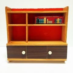 ●SOLD●【Mサイズ】60s-70s ドイツ 木製飾り棚