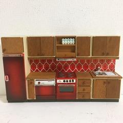 ●SOLD●【Sサイズ】LUNDBY 70's 赤いキッチン