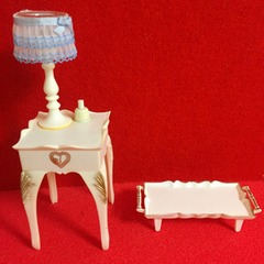 ●SOLD●シンディー 1976 ベッドサイドテーブルセット ライトアップ