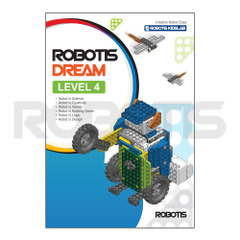 ROBOTIS DREAM Level 4 Workbook [EN][904-0042-200]