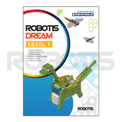 ROBOTIS DREAM Level 1 Workbook [EN][904-0039-200]