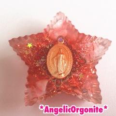 星型大オルゴナイト赤1