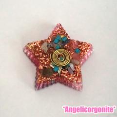 星型大オルゴナイトピンク2