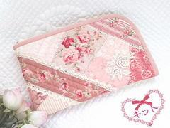 【キット】L字ファスナーケース(ピンク)-内布はペイズリー柄